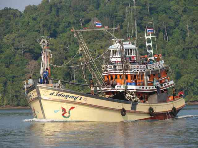 Thailand Fishing Vessel