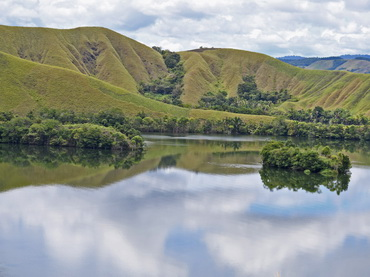 Scenery at Lake Sentani